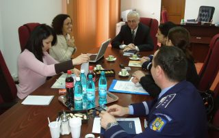 Conducting research in Romania for the UN