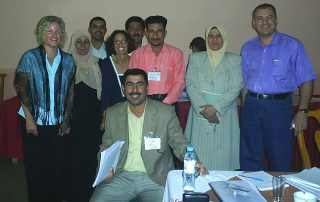 Developing community action plans on conflict resolution in Iraq