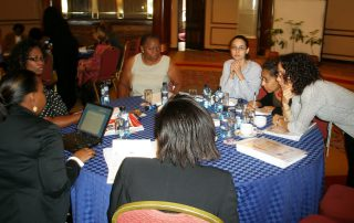 Helping teams from five countries in Africa develop strategic plans